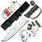 Bushmaster Survival Knife with Many Extras
