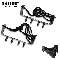 Ninja Tree Wall Ice Climbing Foot Steel Boot Spikes