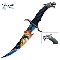 Fantasy Dragon Bowie Knife with Sheath