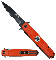 Orange EMS Assisted Opening Rescue Pocket Knife