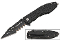 Black MUTILATOR Spring Assisted Opening Pocket Knife