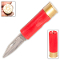 Red 12 Gauge Shotgun Shell Folding Pocket Knife