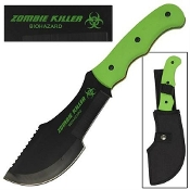Biohazard Zombie Killer Green Survival Tracker T-3 Knife & Case