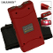 25,000,000 Volt Red Stun Gun Built-In Charger Light & Case