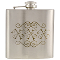 XXX 6 oz Stainless Steel Whiskey Hip Flask
