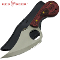 Red Deer Oklahoma Poultry Hunting Skinning Knife with Sheath