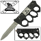 Don't Tread on Me Spring Assisted Trench Pocket Knife & Knuckles