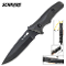 Schrade Guide Master Slingshot Fixed Blade Survival Knife