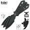 M48 Airborn Throwing Knife Set 3 Pack Black Knives