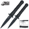 Black Legion Cyclone Assisted Opening Stiletto Pocket Knife Set