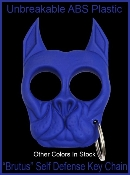 Brutus Self Defense Keychain - Blue