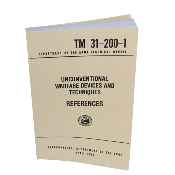 US Army Unconventional Warfare Devices & Techniques Manual Book