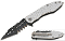 Silver MUTILATOR Spring Assisted Opening Pocket Knife