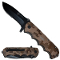 USMC Marines Tactical Pocket Knife Spring Assisted Opening Knives