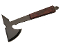 Rosewood Handle Steel Outdoor Throwing Camping Axe with Sheath