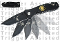 Spring Opening Knife - Fire Fighter & Police - Black