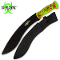 Green Survival Machete Undead Gasher Gurkha Kukri Full Tang