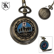 Second Amendment Defender of Liberty Pocket Watch