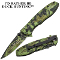 """Rather Be Duck Hunting"" Assisted Opening Camo Pocket Knife"