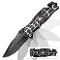 Black Spider Spring Assisted Opening Tactical Pocket Knife