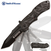 Black Ops Smith & Wesson Tanto Assisted Opening Pocket Knife